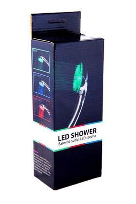 Obrázek z Barevná svítící LED sprcha