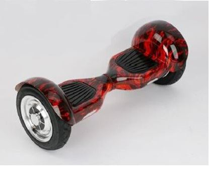 """Obrázek Hoverboard OFFROAD 10"""" (GRAFITTI - red) - značková baterie"""