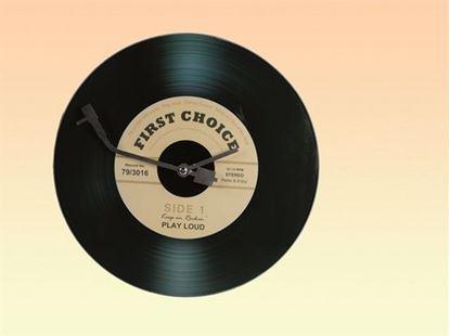 Obrázek Nástěnné hodiny LP deska
