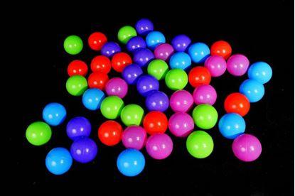 Obrázek Plastové míčky 50 ks (8 cm)