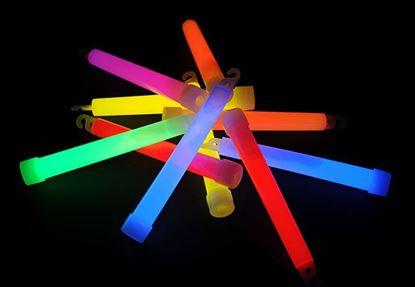 Obrázek Svítící tyčinky 15 cm chemické světlo