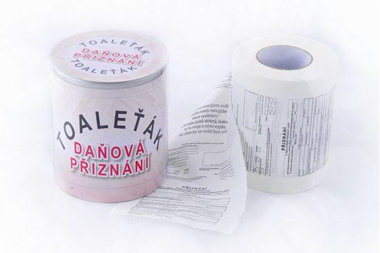 Obrázek z Toaletní papír daňové přiznání