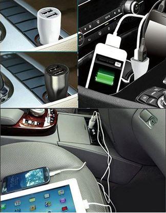 Obrázek Univerzální nabíječka do auta s redukcí 3v1