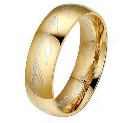 Obrázek Prsten z filmu Pán prstenů velikost 10