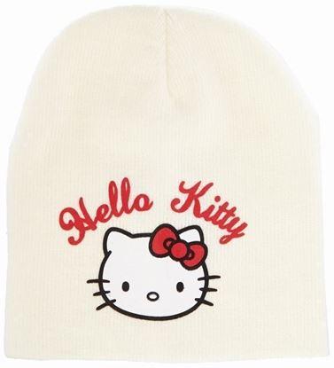 Obrázek Čepice Hello Kitty - krémová