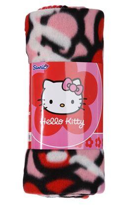 Obrázek Flísová deka Hello Kitty