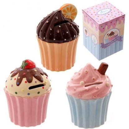 Obrázek Keramická pokladnička Cupcake