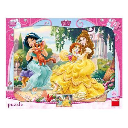 Obrázek Puzzle 12 - Princezny a mazlíčci