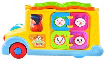 Obrázek Huile Toys multifunkční interaktivní školní autobus pro děti