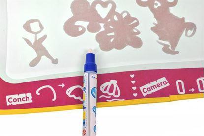 Obrázek Podložka na malování vodou + pero