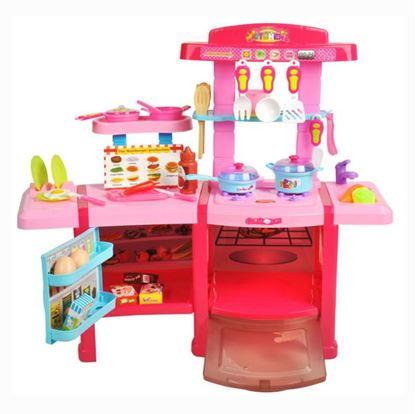 Obrázek Dětská kuchyňka s lednicí a troubou XXL