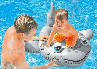 Obrázek Dětský člun - žralok