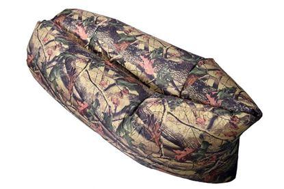 Obrázek Nafukovací vak Lazy bag jednovrstvý - maskáč listy