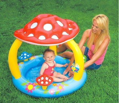 Obrázek Dětský bazének muchomůrka