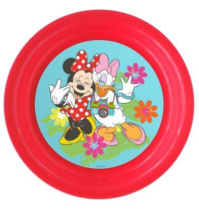 Obrázek 3D plastový talíř Minnie