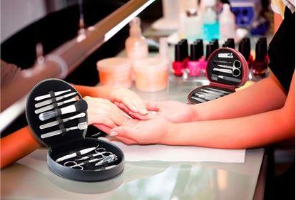 Obrázek 12dílná manikúra s kosmetickými štětci