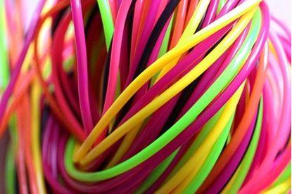 Obrázek Barevné bužírky na pletení