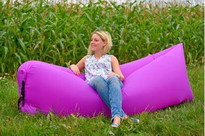 Obrázek Nafukovací vak Lazy bag jednovrstvý - fialový