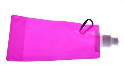 Obrázek Skládací láhev - růžová