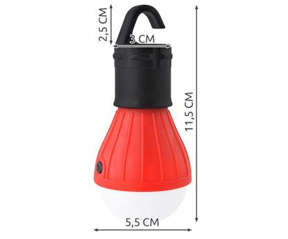 Obrázek LED žárovka do stanu