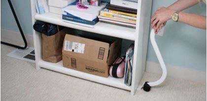 Kolečka na stěhování nábytku