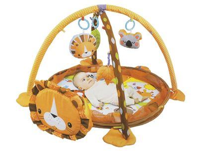 Obrázek Hrací deka lvíček s míčky 3v1