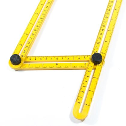 Obrázek z Víceúhelníkové pravítko