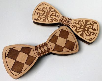 Obrázek Dřevěný motýlek