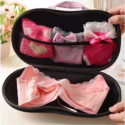 Obrázek z Cestovní organizér na spodní prádlo - červený