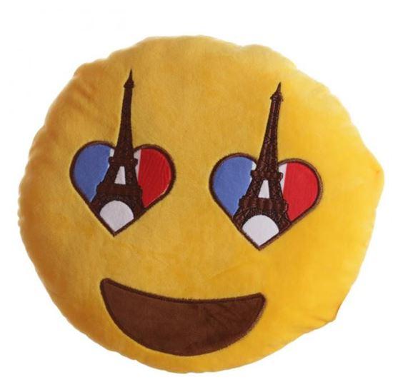 Obrázek z Plyšový polštář - I love Paris
