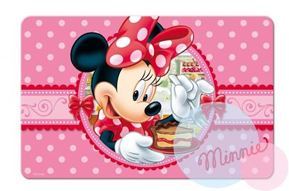 Obrázek 3D podložka Minnie