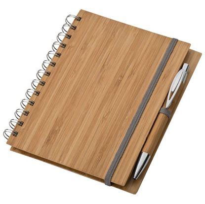 Obrázek Dřevěný diář s propiskou