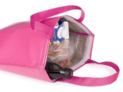 Obrázek Chladící taška přes rameno - růžová