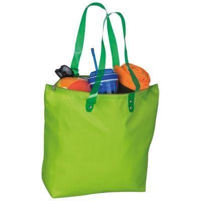 Obrázek z Plážová taška s průhlednými uchy - zelená