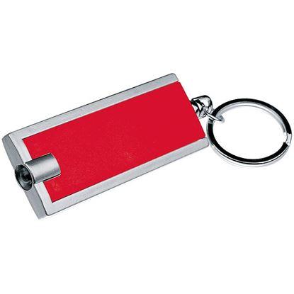 Obrázek Dvoubarevná klíčenka s LED světlem