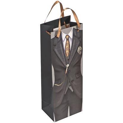 Obrázek Dárková taška na víno - muž