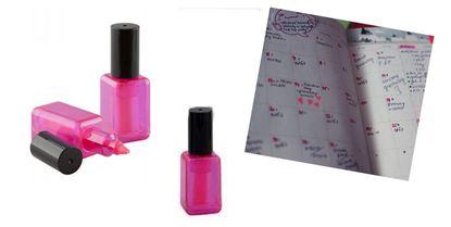 Obrázek Zvýrazňovač - lak na nehty