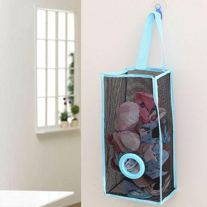 Obrázek z Zásobník na igelitové pytlíky - modrý