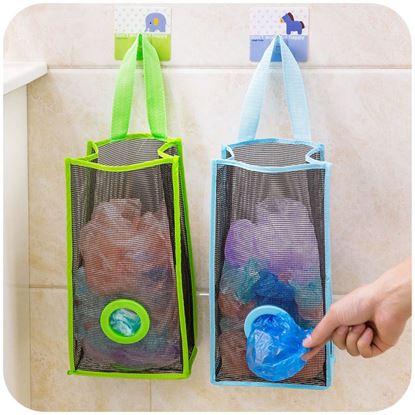 Obrázek Zásobník na igelitové pytlíky - zelený
