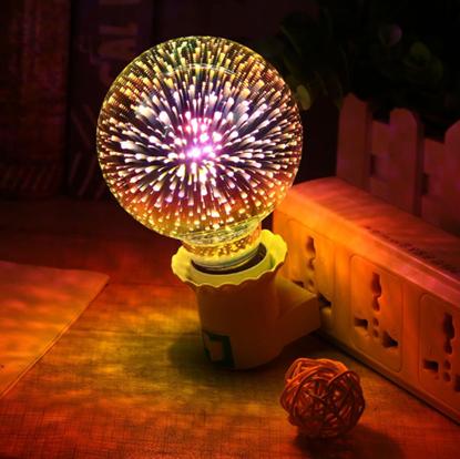 Obrázek Žárovka - ohňostroj