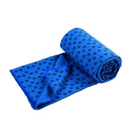 Obrázek Protiskluzový ručník - modrý