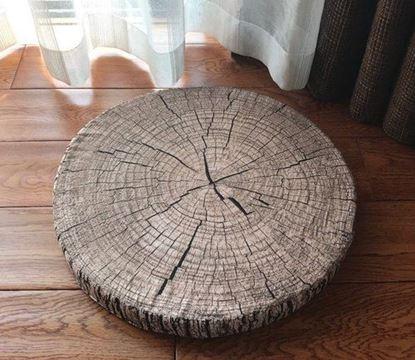 Obrázek Podsedák dřevo - šedý