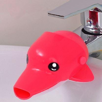 Obrázek Dětský nástavec na kohoutek - delfín