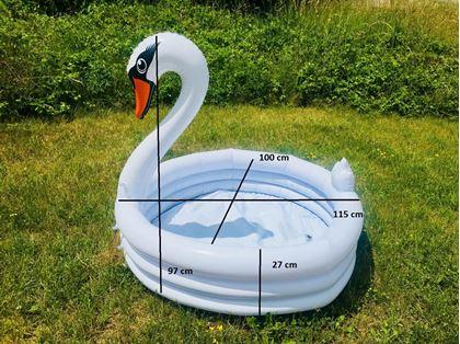 Obrázek z Dětský nafukovací bazén Labuť