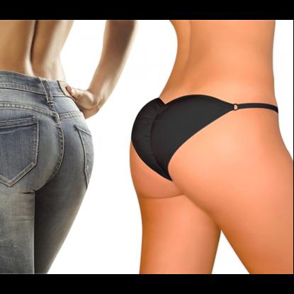 Obrázek Push-up kalhotky Brazilian Secret - černé - XL