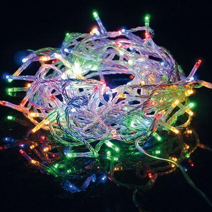 Obrázek z Vánoční osvětlení 200 LED - multicolor 2v1