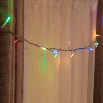 Obrázek Vánoční osvětlení 200 LED - multicolor 2v1