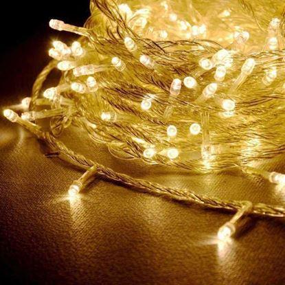 Obrázek Vánoční osvětlení 200 LED - žlutá 2v1