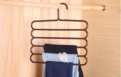 Obrázek Ramínko na kalhoty - hnědé