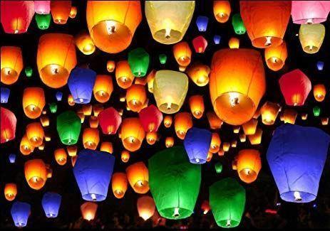 Obrázek z Lampiony štěstí 20 ks mix barev
